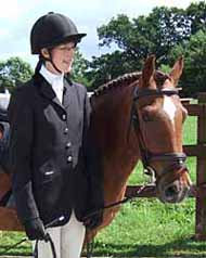 Photo of Clare Skinner and Starra