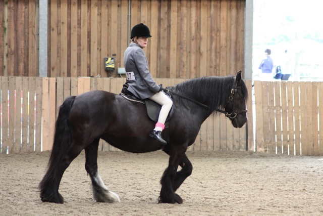 Emma and Lula dressage