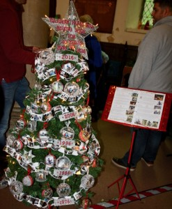 Christmas tree at Writtle festival