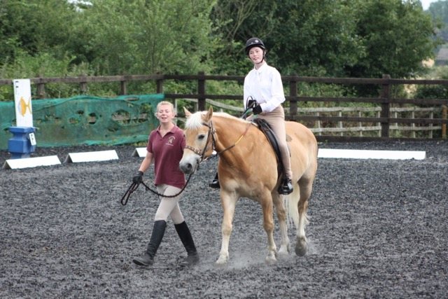 Kiara and Nicco in the Introduction to Dressage